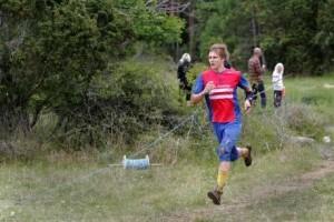 Jaktstartsspurt på Gotland