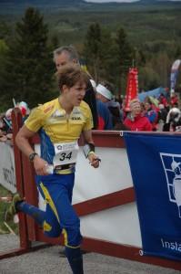Mot målet (foto: Sven Lundbäck)