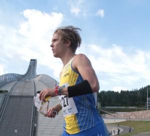NORT-sprint, mend Holmenkollbakken i bakgrunden (foto: Raffael Huber)