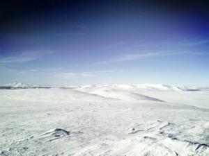 Utsikt in i Norge från Storvättershågna