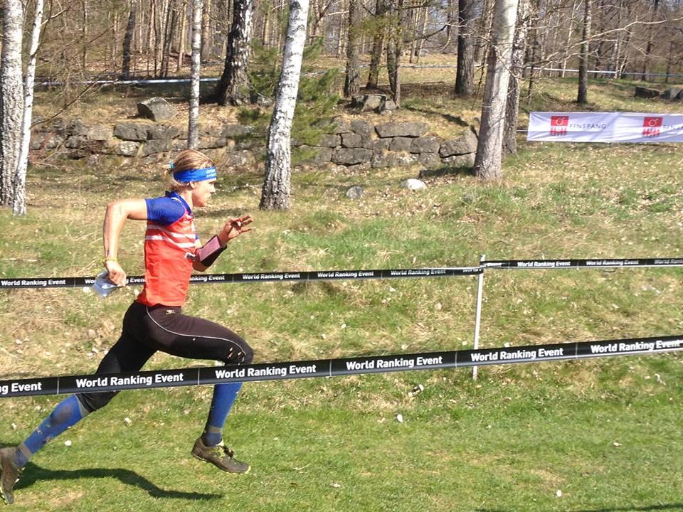 Finishing the Silva League long distance (photo: Aleksei Alekseyonok)